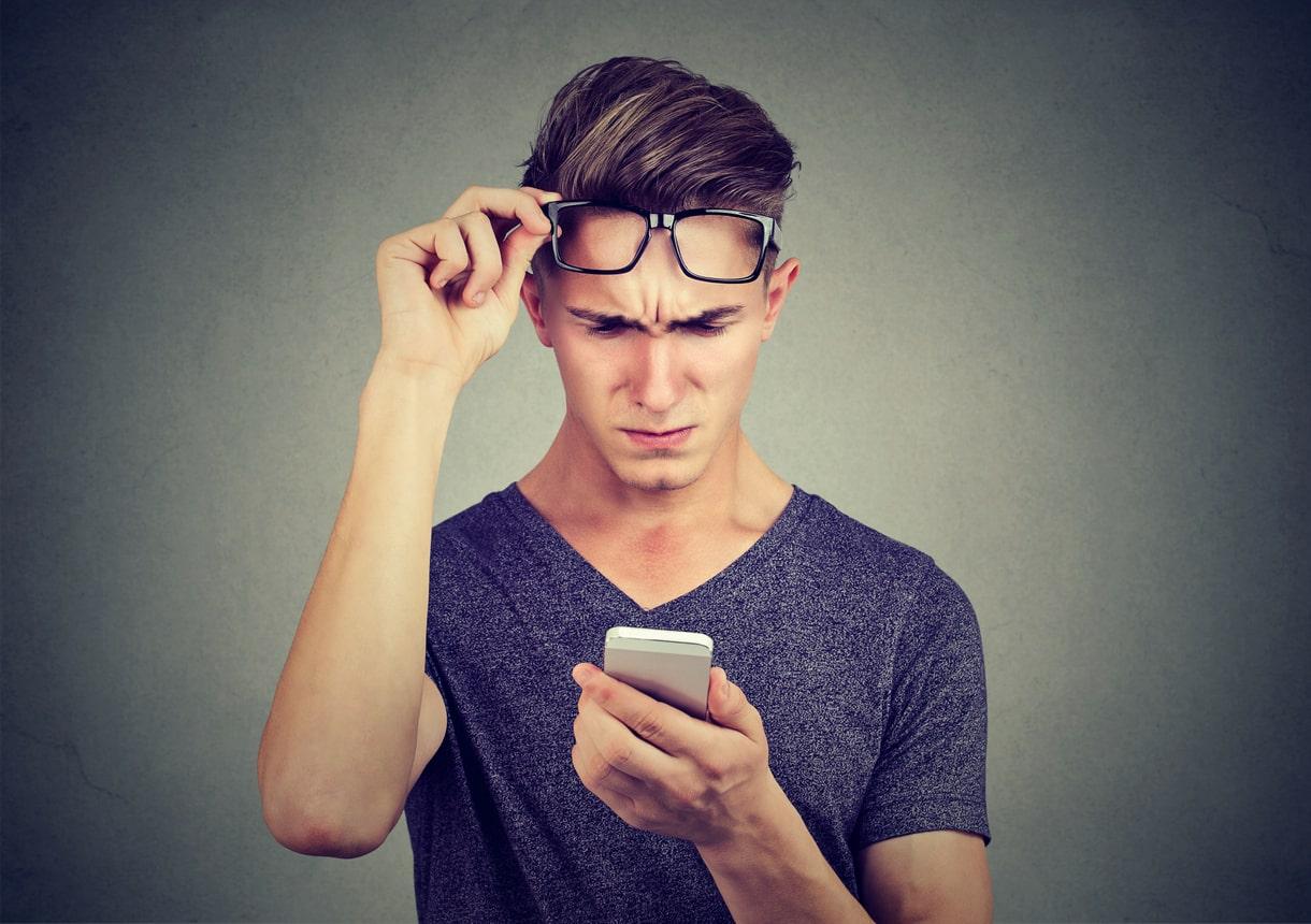 Uso excessivo do celular e sua relaçao com problemas na visão